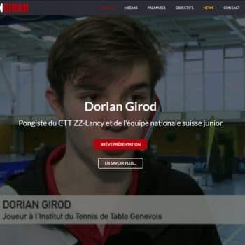 Site web Dorian Girod
